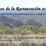 Los mitos de la Restauración Ecológica