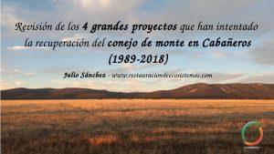 Atardecer en la raña del Parque Nacional de Cabañeros. Para ilustrar la revisión de los proyectos para la recuperación del conejo en Cabañeros