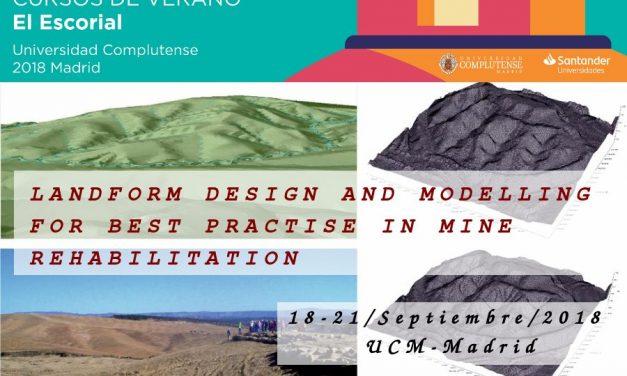Curso de diseño y modelización de restauración geomorfológica de minas