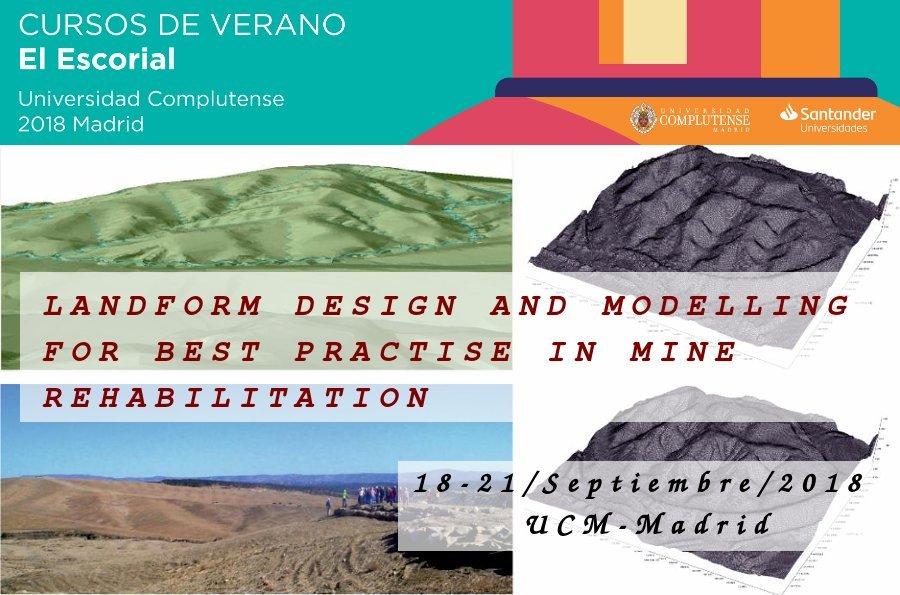 Portada curso restauración geomorfológica de minas