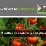 Fichas técnicas para proteger la biodiversidad en el sector agrario