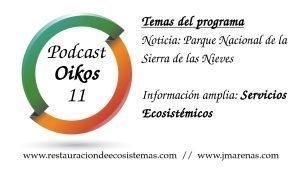 Oikos #11 - Servicios ecosistémicos