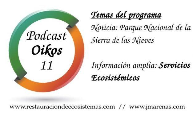 Oikos #11 – Servicios ecosistémicos