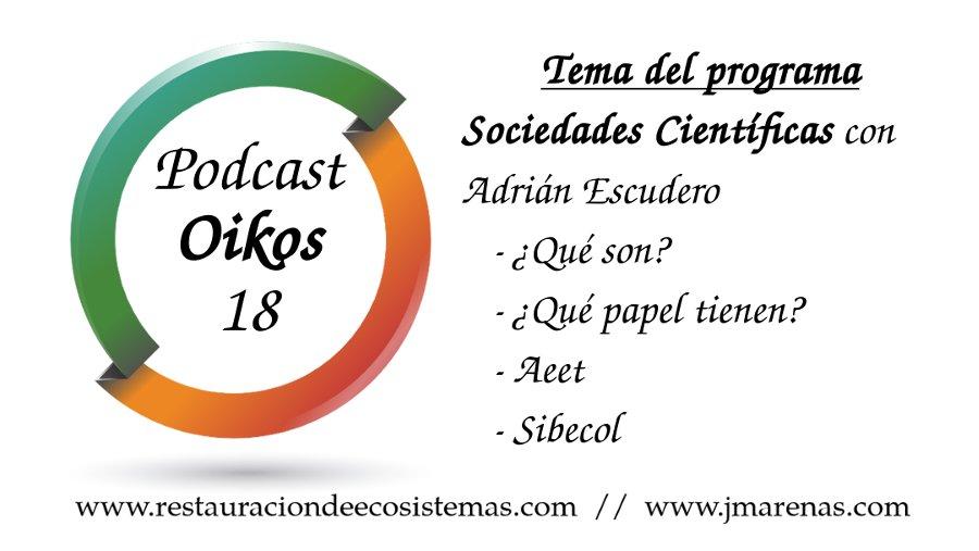 Sociedades científicas con Adrián Escudero - Oikos #18
