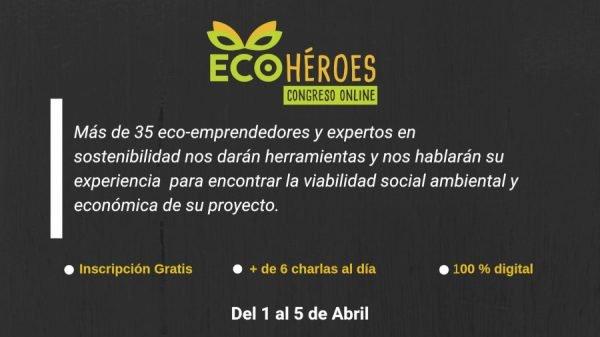 congreso online eco-héroes promo ancha negra