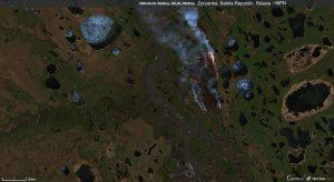 Incendios zombis en el noroeste de Rusia. Programa Copérnico