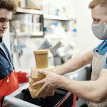 Envases biodegradables para poder sostener la comida take away